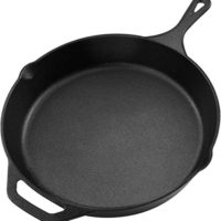 Utopia Kitchen Pre Seasoned Cast Iron Skillet (12.5 inch)